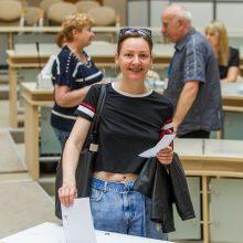 Prezidento ir EP rinkimai: balsuotojų iš anksto srautas – net dvigubai mažesnis