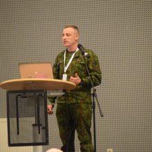 R. Karoblis: fizinis parengimas yra neatsiejama viso karinio rengimo dalis