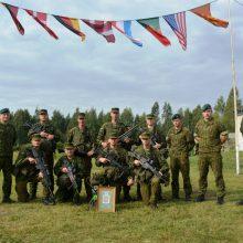 Algirdo bataliono pėstininkų skyrius – stipriausias Sausumos pajėgose