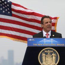Niujorko gubernatorius karantiną pratęsė iki gegužės 15-osios