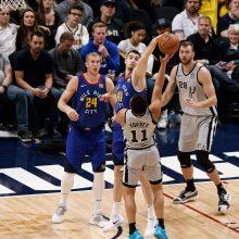 "NBA: D. Motiejūno ""Spurs"" pralaimėjo"