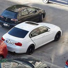 Uostamiestyje apvogti du BMW automobiliai