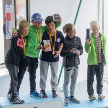 Jaunieji buriuotojai varžėsi Lietuvos čempionate