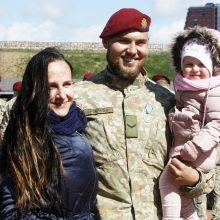 Klaipėdoje sutikti iš misijos Malyje grįžę Lietuvos kariai