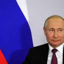 V. Putinas mato Rusijos ir Ukrainos bendros pilietybės galimybę