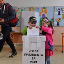Slovakijoje vyksta prezidento rinkimų antrasis ratas