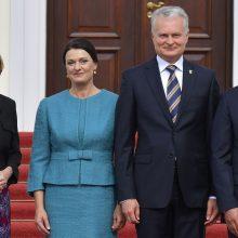 G. Nausėda pokalbyje su Vokietijos prezidentu pabrėžė JAV ir ES dialogo būtinybę