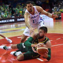 Lietuvos krepšinio rinktinė įveikė Dominikos Respubliką