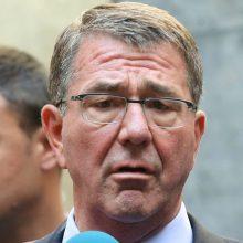 Pentagono vadovas Irake aptars Mosulo puolimą