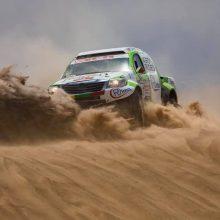 """Po klampaus septinto etapo """"Agrorodeo"""" ekipažas – 15-oje vietoje"""
