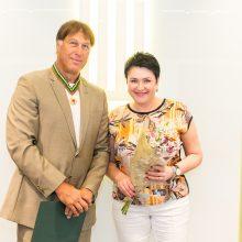 Tarp apdovanotų – ir Š. Marčiulionis