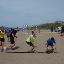 Melnragėje – Lietuvos paplūdimio rankinio čempionato kovos