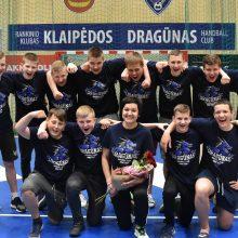 Klaipėdiečiai rankininkai – Lietuvos čempionai