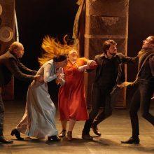 Klaipėdos dramos teatras pasirodė festivalyje Rumunijoje
