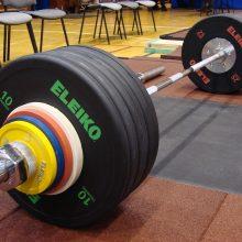 Lietuvos sunkiaatlečiai Europos čempionate liko be medalių