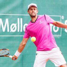 Tenisininkas L. Grigelis Šveicarijoje neperžengė pusfinalio barjero
