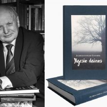 """Bibliotekoje Klaipėdoje – A. Guobio knygos """"Ilgesio dainos"""" pristatymas"""