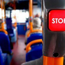 Klaipėdoje per avariją nukentėjo keturi autobuso keleiviai