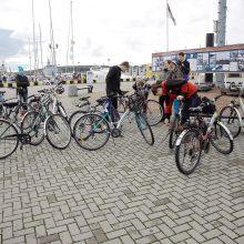 Klaipėdoje – dviračių srauto skaičiuokliai