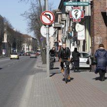 Dviračių take Klaipėdoje sunkiai sužalota moteris
