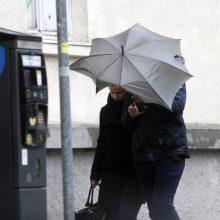 Vakarų Lietuvoje pūs smarkus vėjas