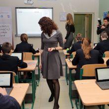 Apie pusė tūkstančio mokytojų galės įgyti kito mokomojo dalyko kvalifikaciją