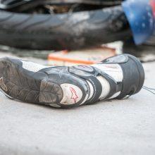 Mažeikių rajone žuvo motociklininkas