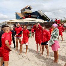 Paplūdimių gelbėtojai susirungs čempionate