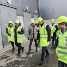 """Gamintojai: nuo 2013 m. bendrovė """"Fortum Klaipėda"""", naudodama išrūšiuotas komunalines ir pramonines atliekas, gamina šilumą ir elektrą miestui."""