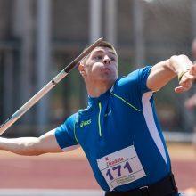 E. Matusevičius Italijoje pasiekė ieties metimo Lietuvos rekordą