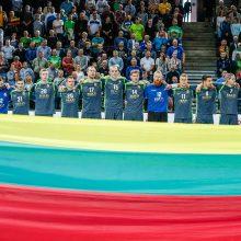Lietuvos rankinio rinktinės žaidėjas G. Babarskas: pralaimėjome elitinei komandai