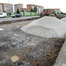 Ruošiasi uostamiesčio gatvių remonto startui