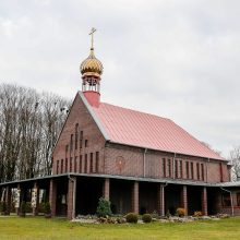 Vagis grobio žvalgėsi prie cerkvės