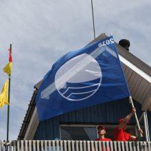 Palangos paplūdimiui – aukščiausią kokybę liudijanti Mėlynoji vėliava