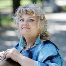 S. Vasičkina: siekiu kurti žmonėms džiaugsmą