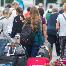 Pernai fiksuota mažiausia emigracija per visą ekonomikos atsigavimo laikotarpį