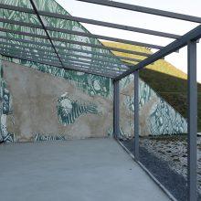 Grafitis piliavietėje tebelaukia verdikto