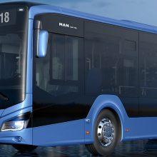 Autobusai uostamiestyje stebins naujovėmis