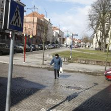 Liepų gatvėje atnaujins blunkančią perėją?