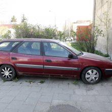Problema Klaipėdoje – automobiliai vaiduokliai