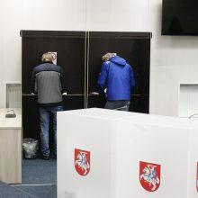 Pataisos dėl mažesnės Seimo rinkimų kartelės – nukeltos