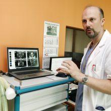 Prostatos vėžiui diagnozuoti – magnetinio rezonanso tomografija ir robotas