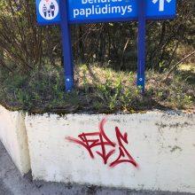 Uostamiesčio grafitininkai varo į neviltį
