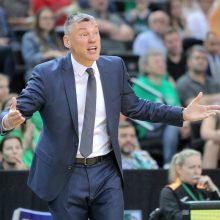 Eurolygos metų trenerio rinkimuose Š. Jasikevičius liko trečias