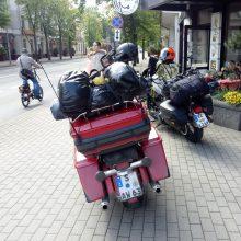 Motociklų entuziastams Klaipėdoje – baudos