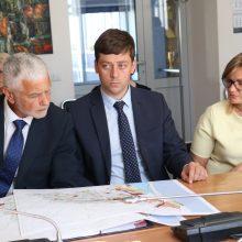 Diskutuota dėl Klaipėdos rajono prioritetinės plėtros zonų
