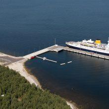 Progresas: nedidelis Saremo kruizinis uostelis per metus priėmė net 9 laivus.