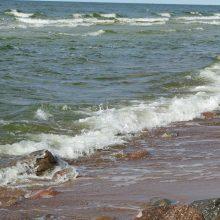 Juodkrantės paplūdimyje – skenduolio kūnas