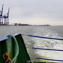 Baltijos uostai pajuto krovinių stygių