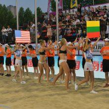 Neįtikėtina: Klaipėdos senamiestyje – pliažo tinklinis